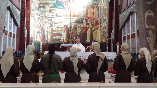 Eucaristía en la Basílica de la Anunciación